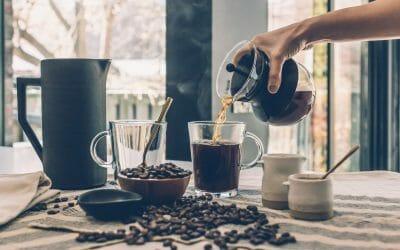 Functionele koffie met vitamines en superfoods