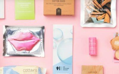 Abonnementsdienst voor menstruele goodieboxen