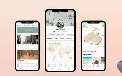 Dé Innovatieve Social Media Reis App